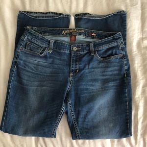 Arizona Jeans Curvy Bootcut Size size 13 S GUC